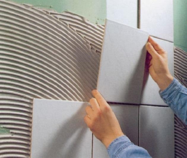 Cer mica na parede de gesso drywall pode ou n o blog for Ceramica para revestir paredes