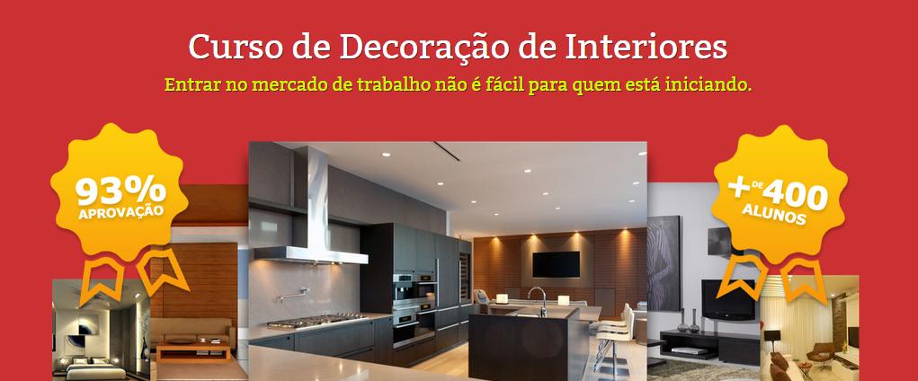 decoracao de interiores mercado de trabalhoCURSO DECORAÇÃO DE