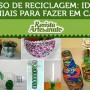 curso reciclagem artesanato
