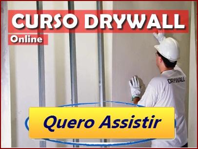 Curso Drywall Online - Início Imediato!