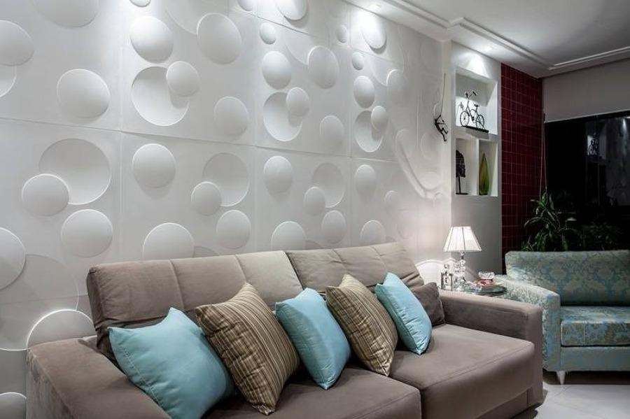 40 modelos de parede de gesso 3d blog do gesseiro for Placas decoradas para pared
